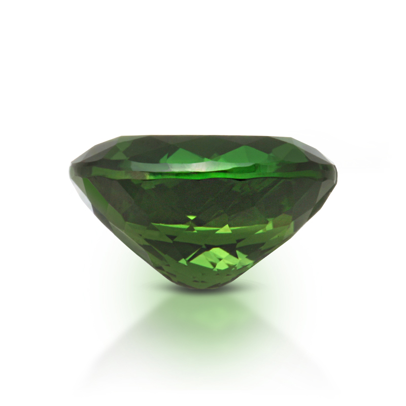 Natural Chrome Tourmaline Green Color Oval Shape 4.15 Carats