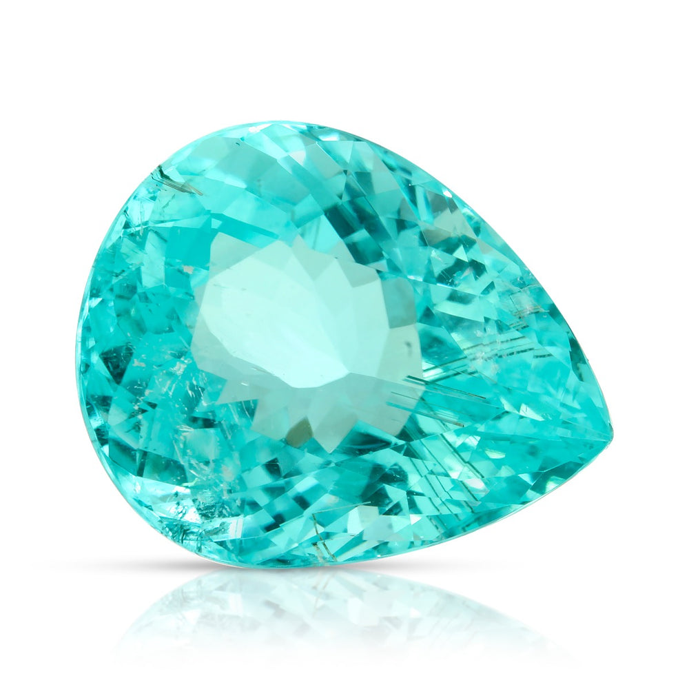Load image into Gallery viewer, Swimming pool. Paraiba Tourmaline 13.13ct  With GIA Report