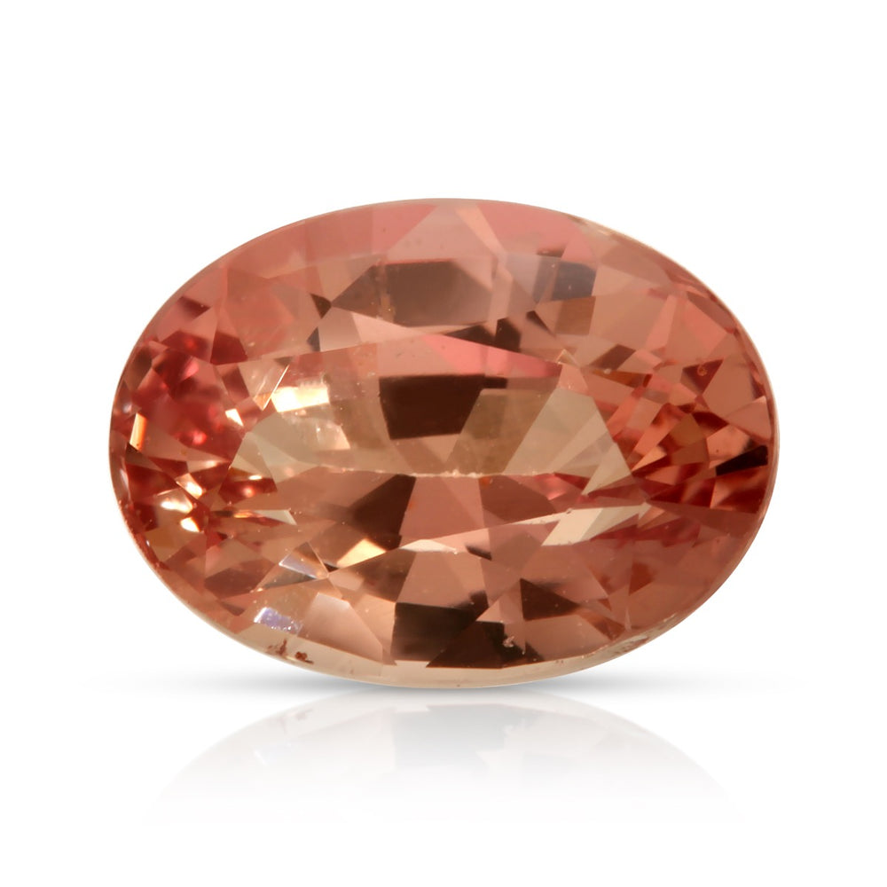 Make her Blush. Padparadscha Sapphire 2.71ct With GRS Report (Heated)