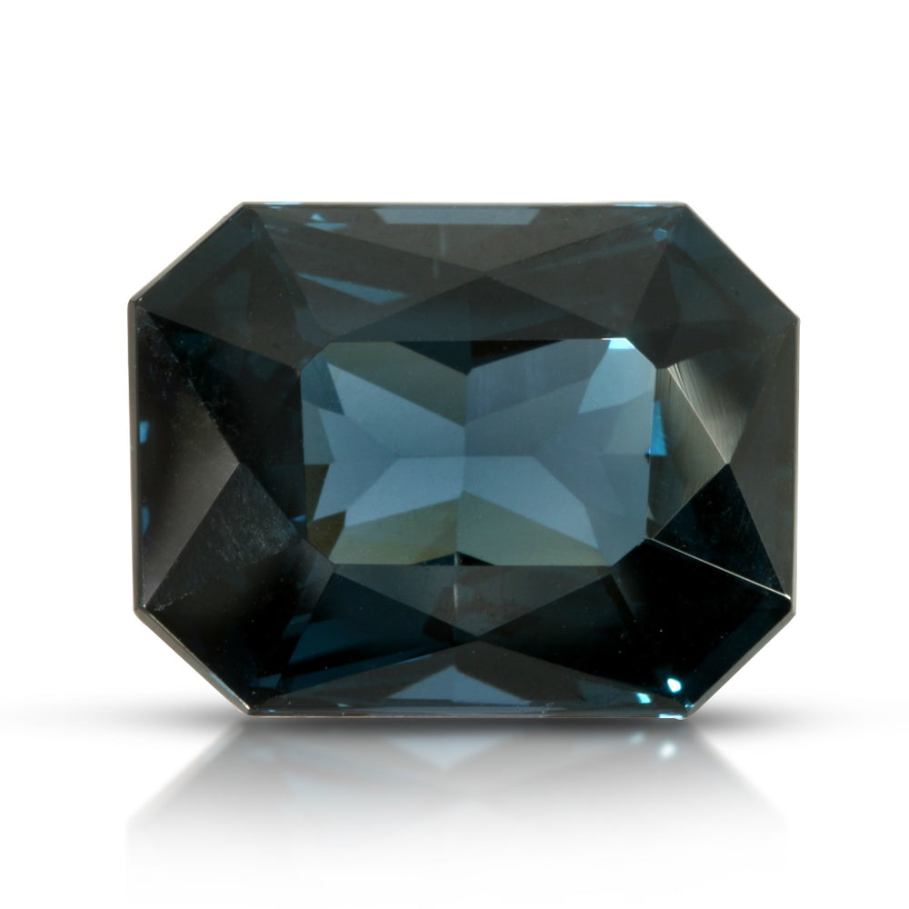Blue Note. Greenish Blue Spinel 10.94ct With GIA Report (Unheated)