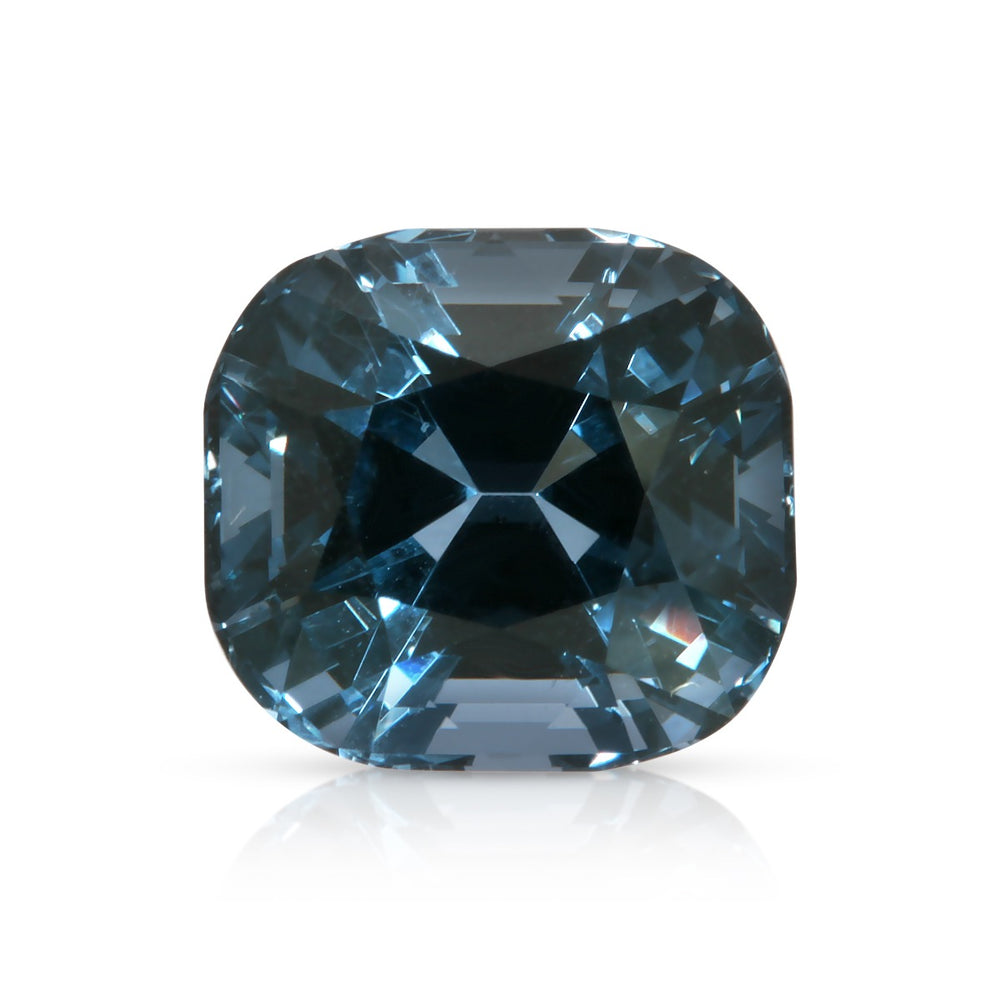 Blue velvet. Blue Spinel 4.18ct With GIA Report (Unheated)