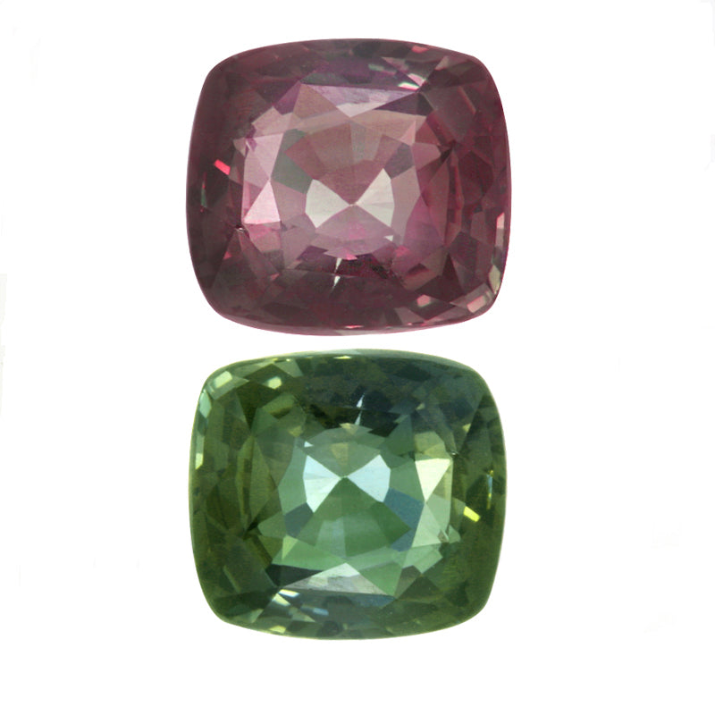 Natural Alexandrite Blue-Green Changing to Pinkish Purple Color 2.24 Carats With GIA Report