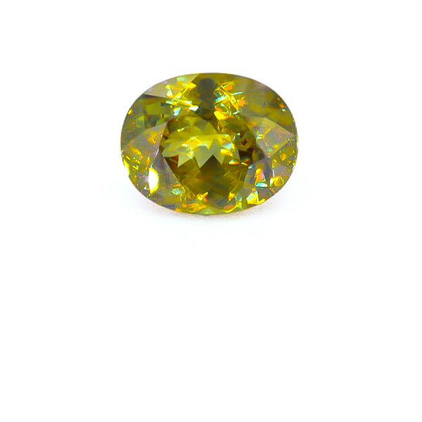 Natural Sphene Oval Shape 12.07 Carats
