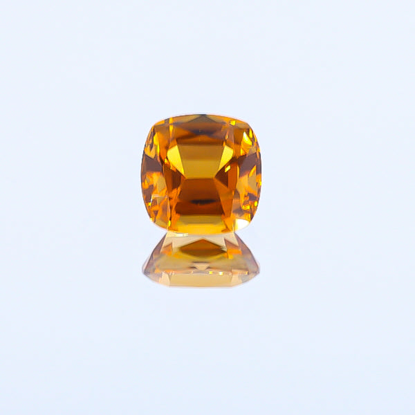 Natural Orange Tourmaline  Cushion Shape 4.32 Carats