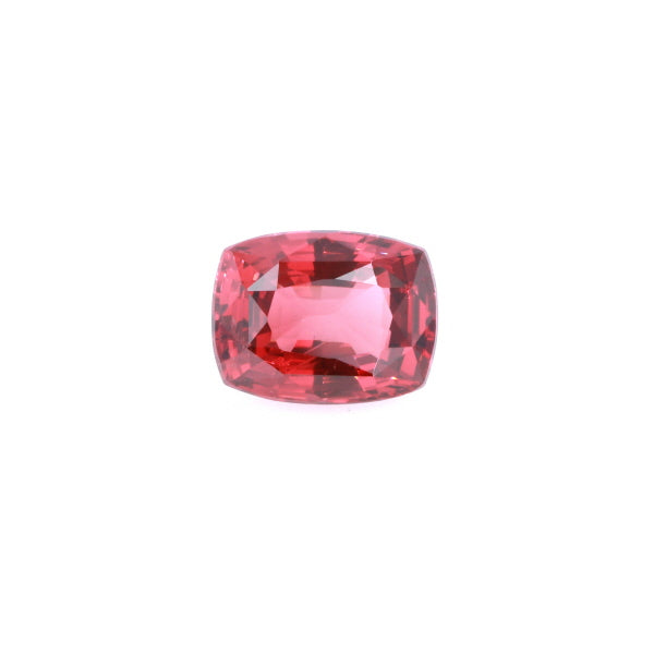 Natural Unheated Orange Spinel Orange Red Color Cushion Shape 8.39ct With GIA Report