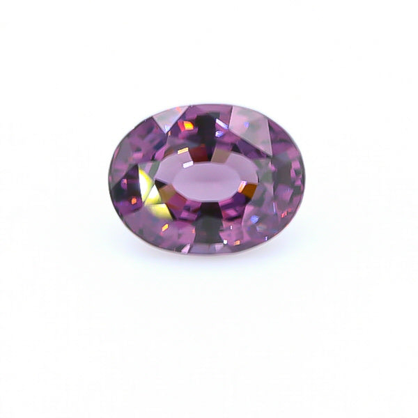 Natural Purple Spinel 10.11 Carats With GIA Report