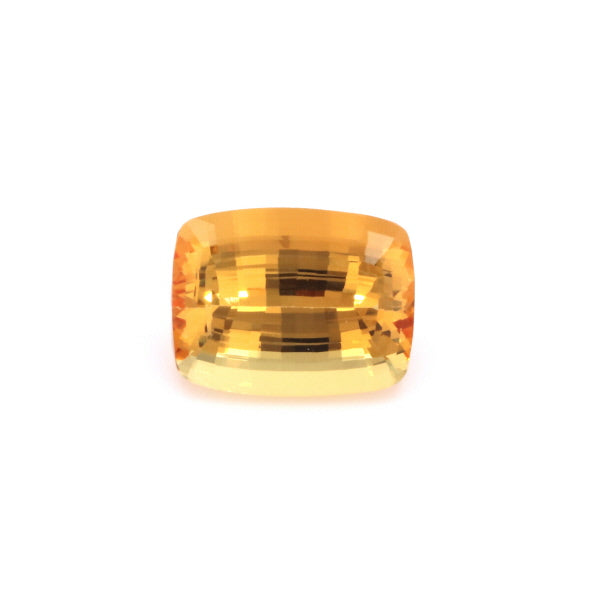 Natural Unheated Yellow Orange Imperial Topaz  Cushion Shape 42.72ct With GIA Report