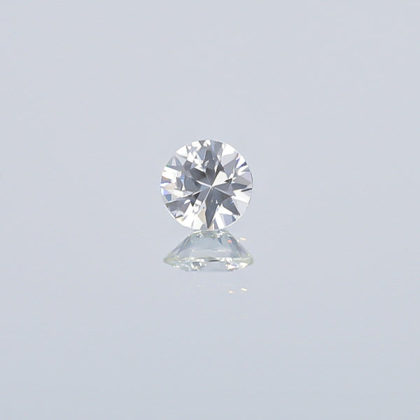 Natural Unheated White Sapphire 2.08 Carats With GIA Report