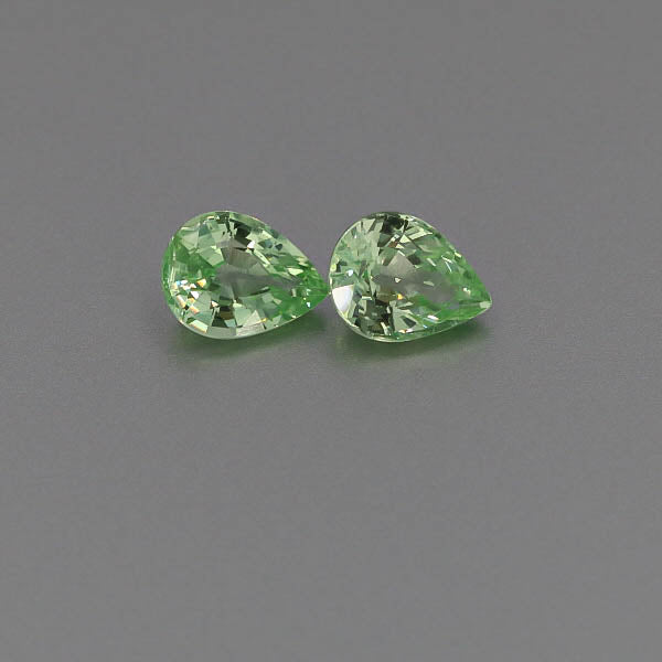 Natural Grossular Garnet Pair 4.31 Total Carats