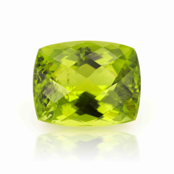 Natural Peridot Cushion Shape 14.57 Carats