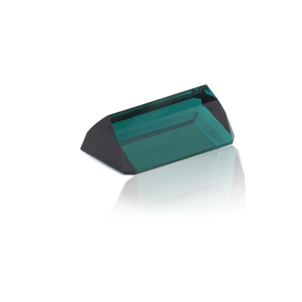 Natural Unheated Green Tourmaline Emerald Shape 32.62 Carats
