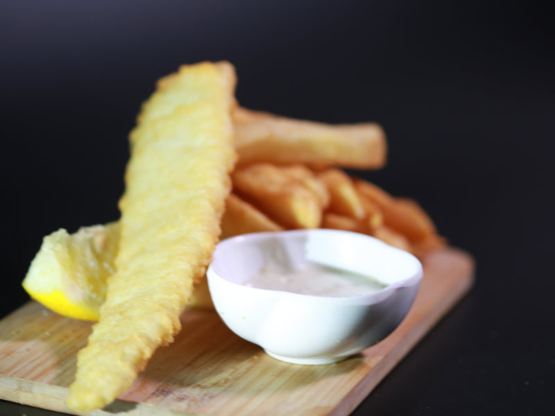 Battered Fish and chips