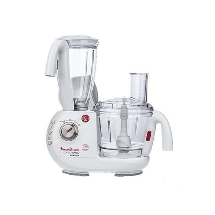 MOULINEX Odacio Food Processor 1000W 4L 38 Functions - White