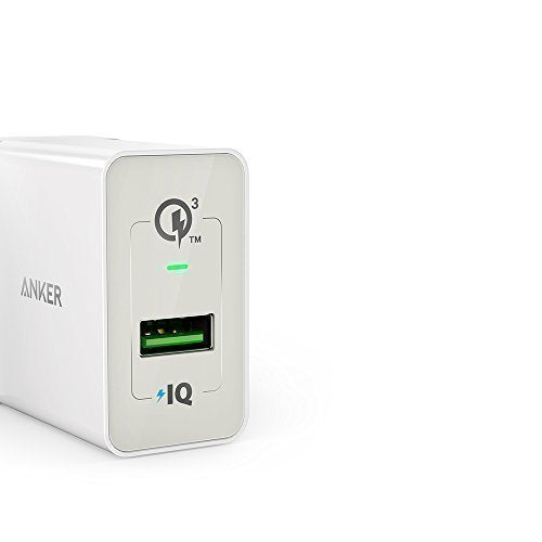 Anker PowerPort+ 1 with Quick Charge 3.0 EU White