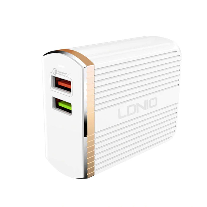 LDNIO A2502Q Quick Charge 3.0 USB Travel Charger Adapter