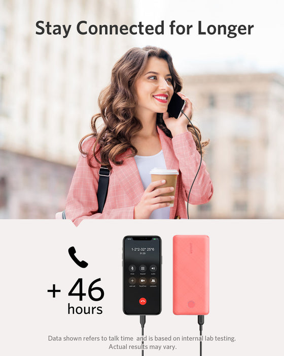 Anker PowerCore Slim 10000 PD Pink