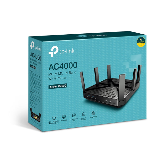TP-Link  MU-MIMO Tri-Band WiFi Router-Archer C4000
