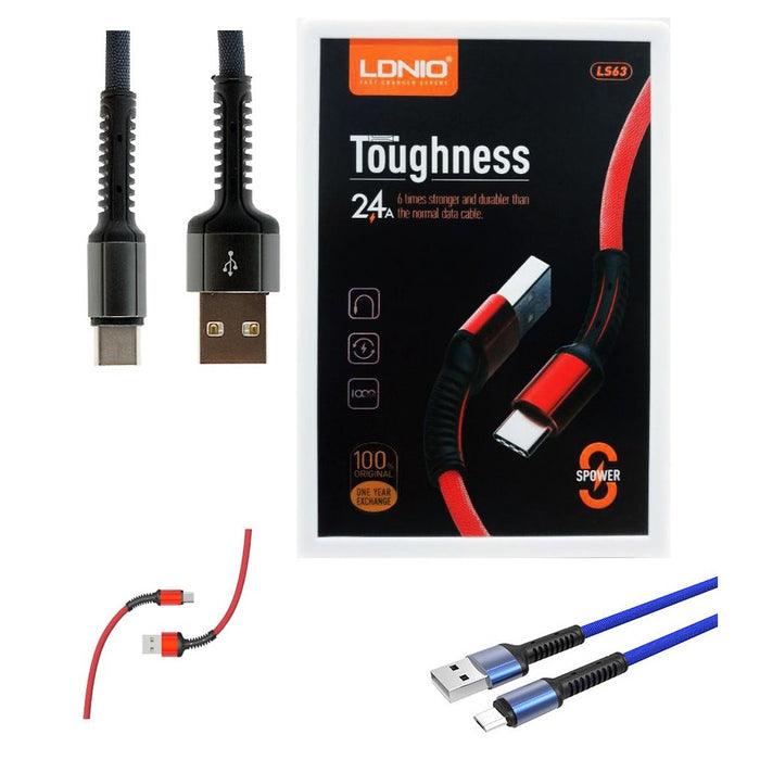 Ldnio LS63 Toughness USB Cable Fast Charge