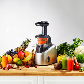 MOULINEX Infiny Juicer 200W 0.8L 2 Speeds - Silver