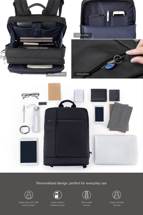 MI Business Backpack (Black)