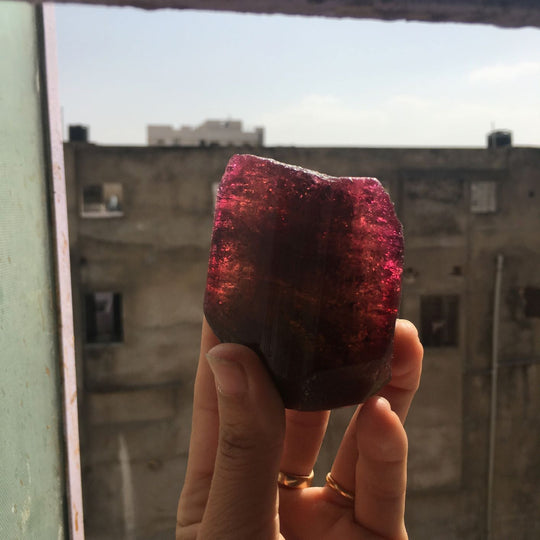 Rough Watermelon Tourmaline