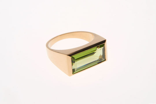 Peridot Empress Ring