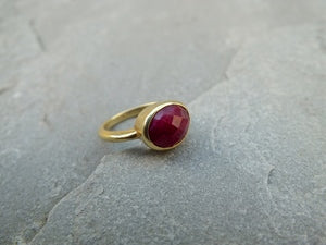 Ruby Princess Pinky Ring