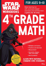 Load image into Gallery viewer, Star Wars Workbook: 4th Grade Math