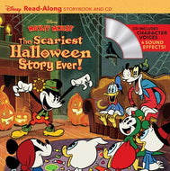 Disney Mickey Mouse: The Scariest Halloween Story Ever! [With Audio CD]