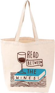 Read Between the Wines Tote