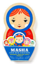 Load image into Gallery viewer, Masha and Her Friends Wooden Nesting Doll Puzzle