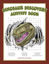 Load image into Gallery viewer, Dinosaur Discovery Activity Book