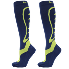 ActivSocks sports compression socks navy/lime