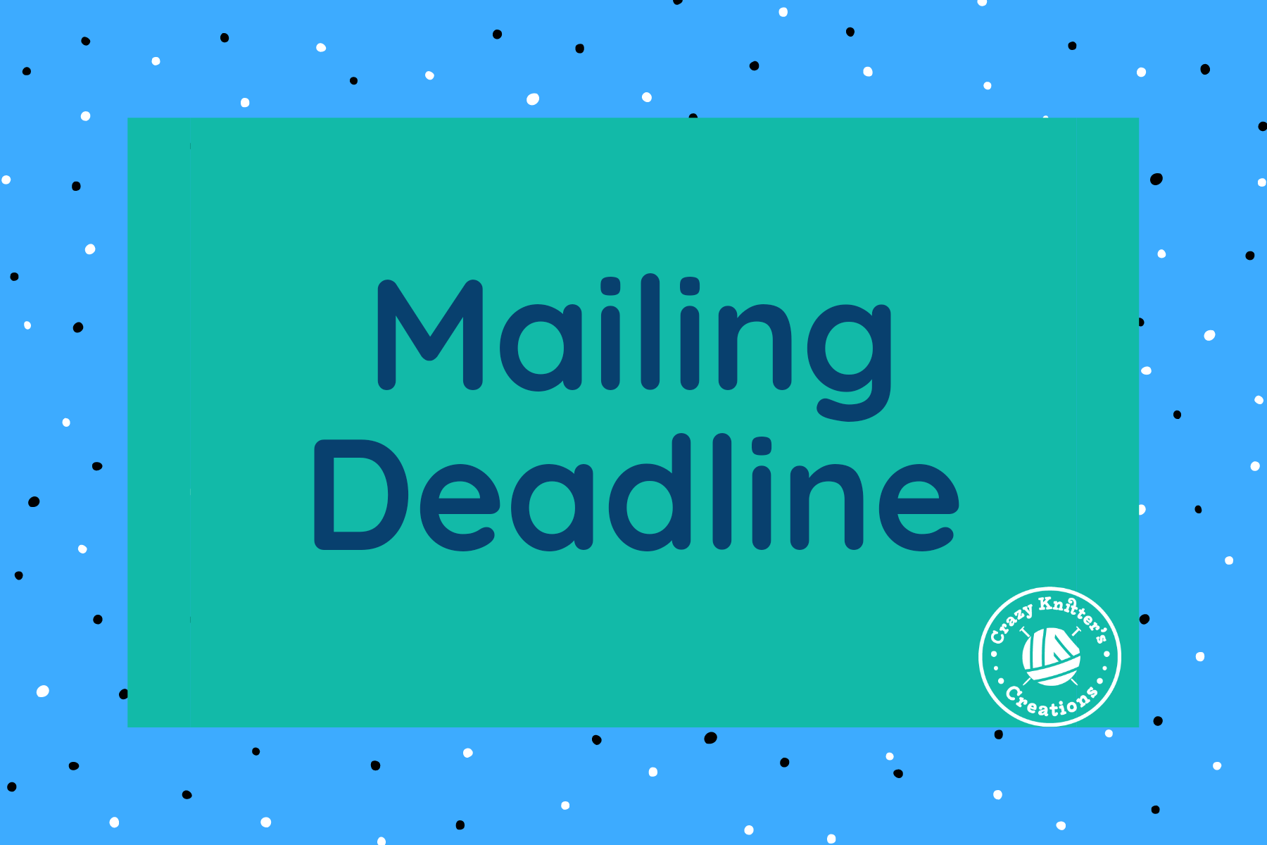Mother's Day USA Mailing Deadline Reminder