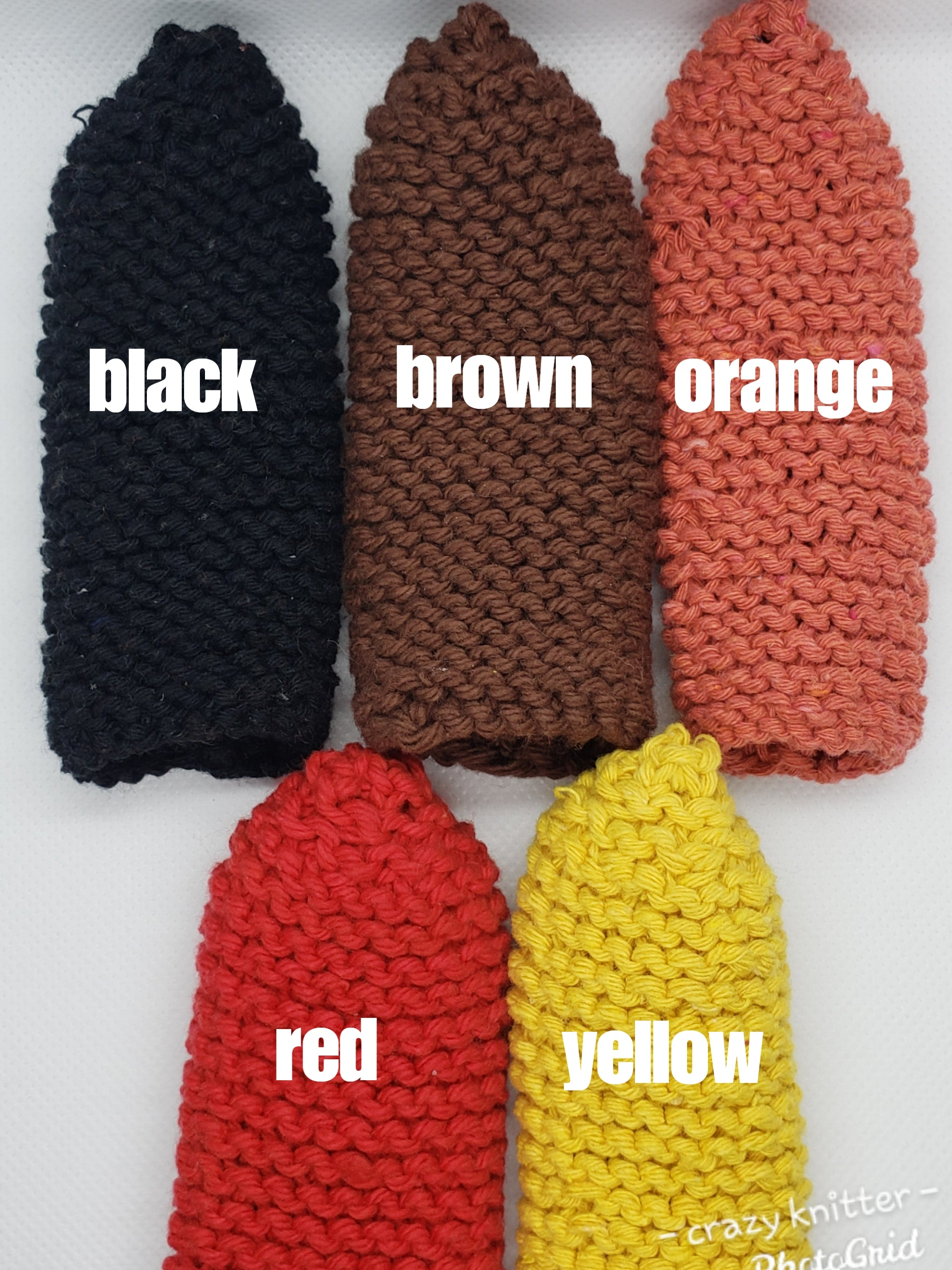 Knitted Pan Handle Cover