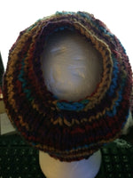 Load image into Gallery viewer, Knit 'Messy Bun' Hat