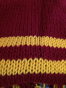 Knit 'Harry Potter' Scarf