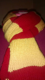Load image into Gallery viewer, Knit 'Harry Potter' Scarf