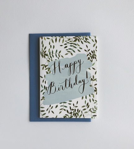 Happy Birthday card by Peggy + Kate - The Jute Basket
