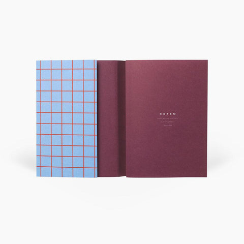 Small Grid Notebook