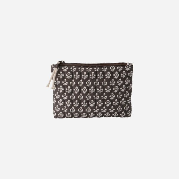 Lutea Makeup Pouch in Grey
