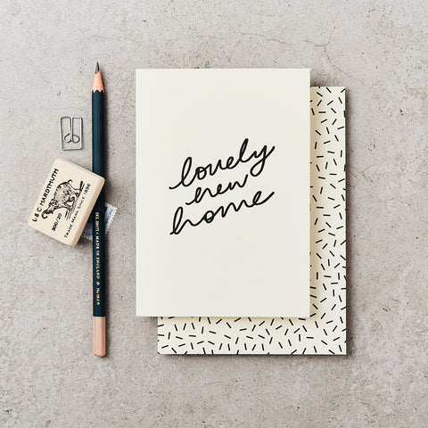 Lovely New Home Card by Katie Leamon - The Jute Basket