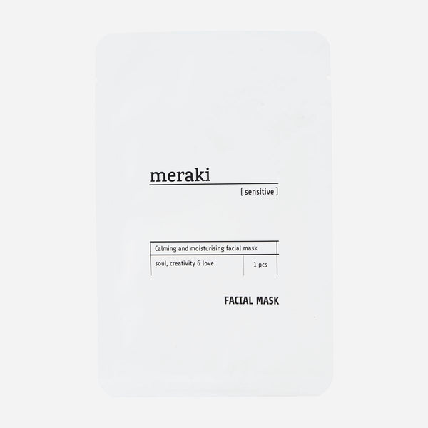 Meraki Sensitive Face Mask - The Jute Basket