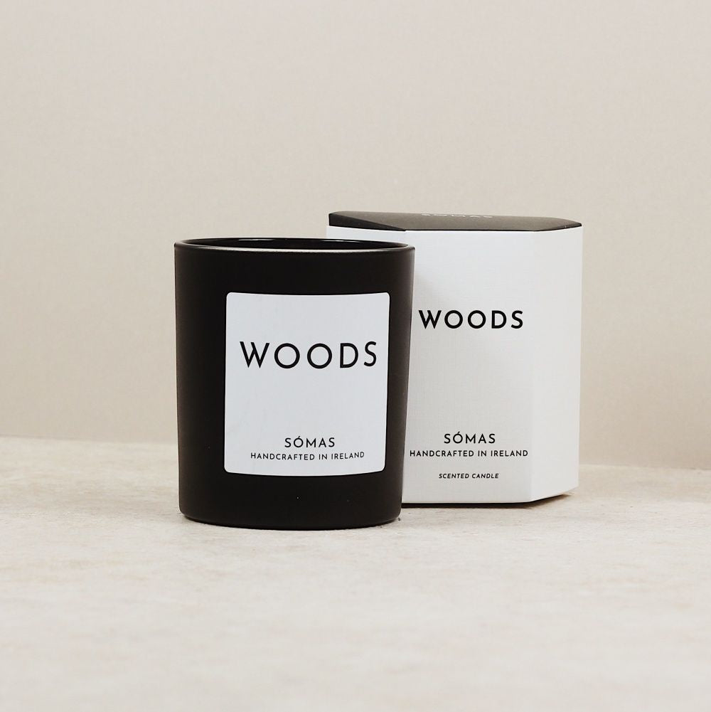 SOMAS Woods Candle - The Jute Basket