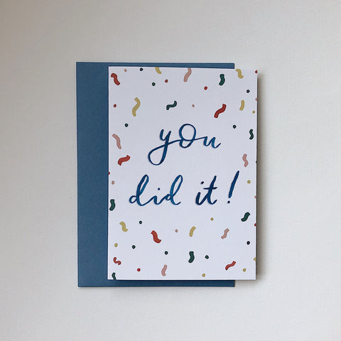 You did it card Peggy + Kate - The Jute Basket