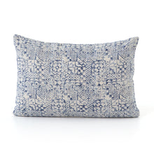 Load image into Gallery viewer, Ink Stamped Print Pillows, S/2