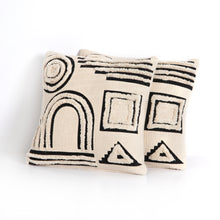 Load image into Gallery viewer, Playful Geometry Pillow, S/2