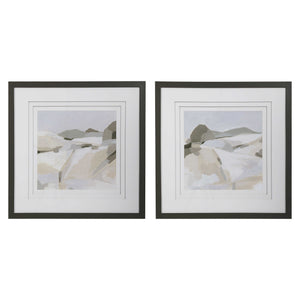 Rocky Mountain Framed Prints, 2 Piece Set