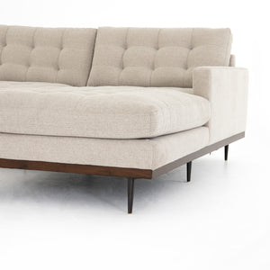 Lucy 2-Piece Right Arm Sectional