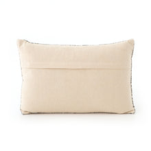 Load image into Gallery viewer, Faded Black Lumbar Pillow, S/2